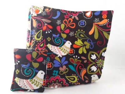 Reusable Kitchen Roll - Birds Of Norway (with tube) & Unsponge Set